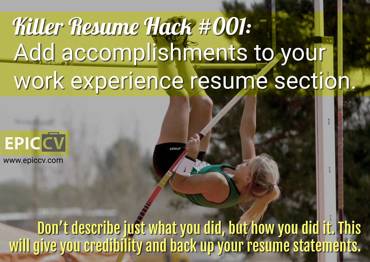 Killer Resume Hack