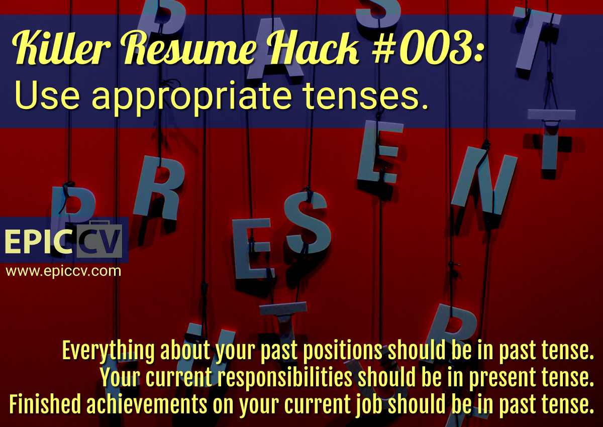 Killer Resume Hack 003