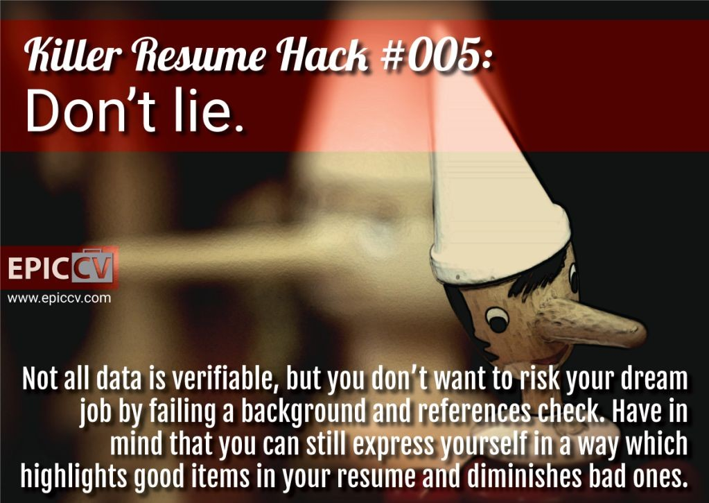 Killer Resume Hack 005