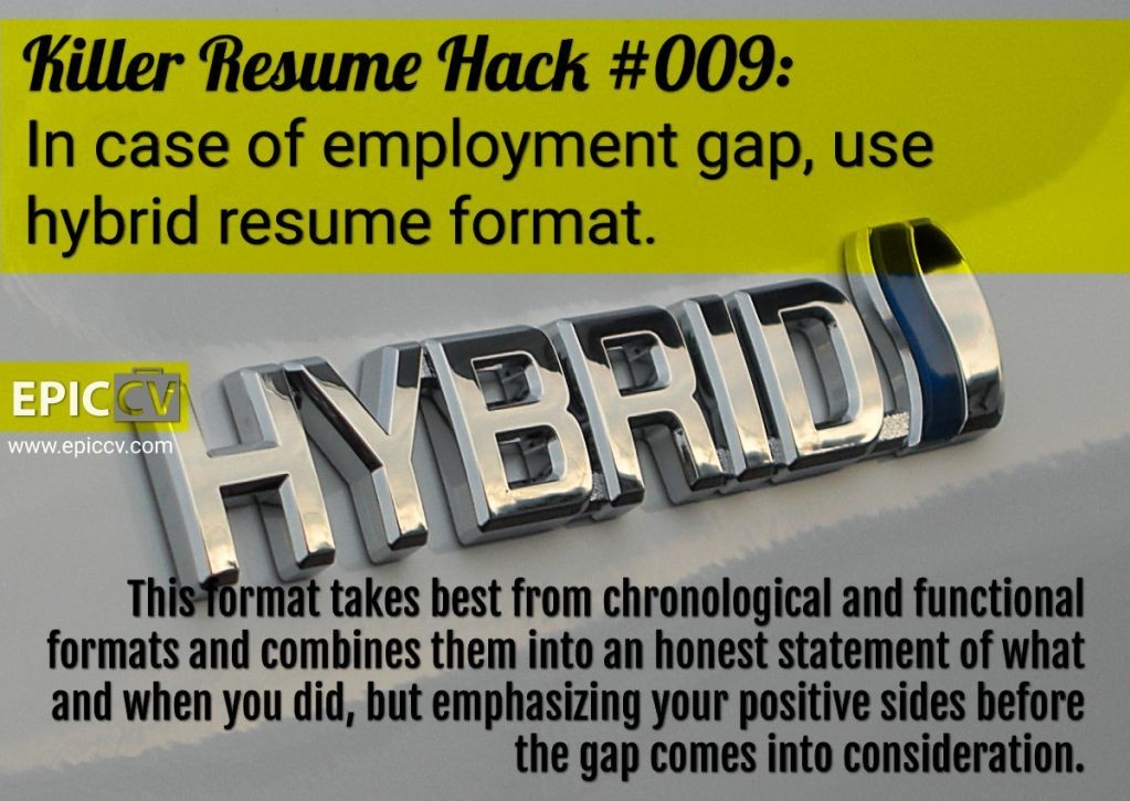 Killer Resume Hack #009