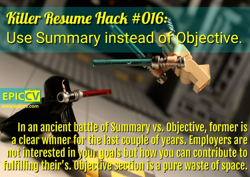 Killer Resume Hack #016