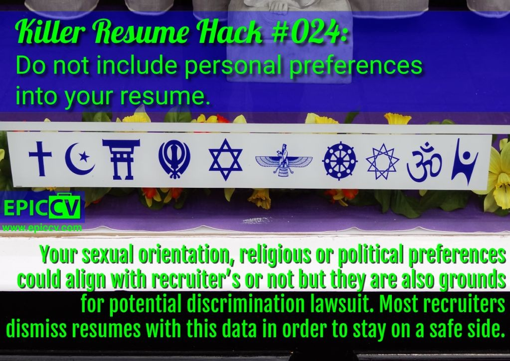Killer Resume Hack #024