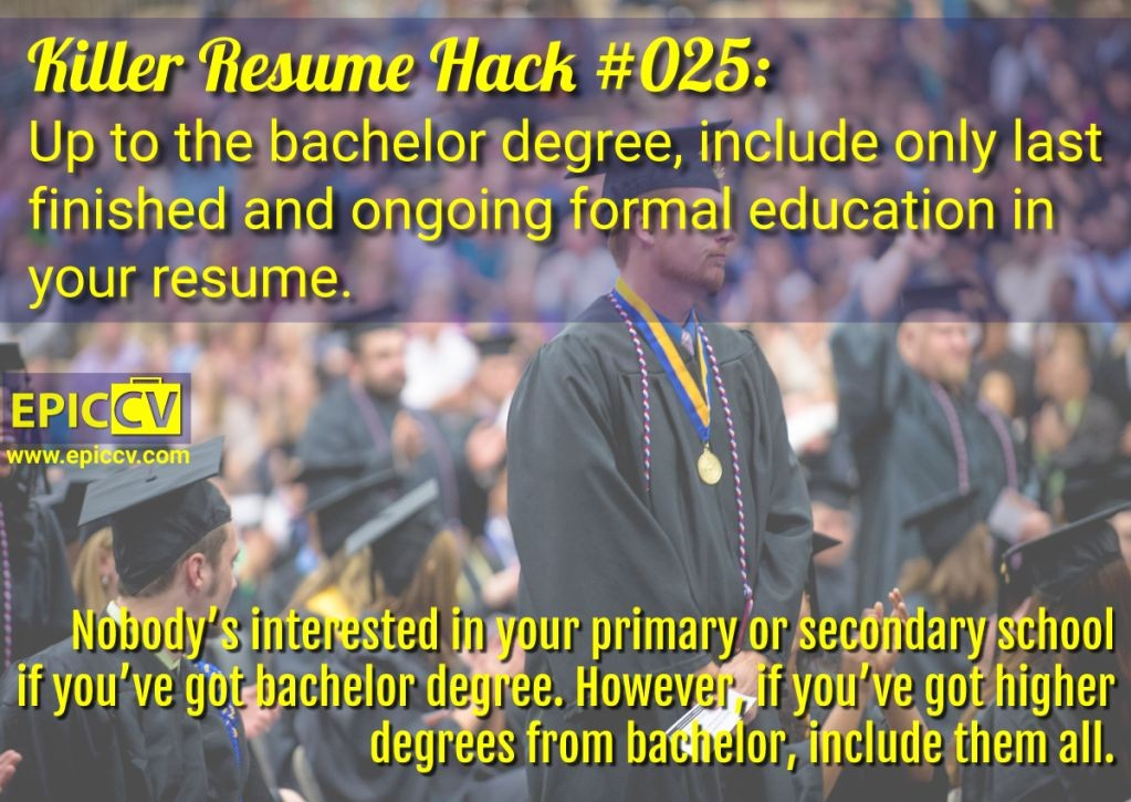 Killer Resume Hack #025