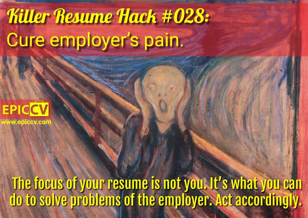 Killer Resume Hack #028