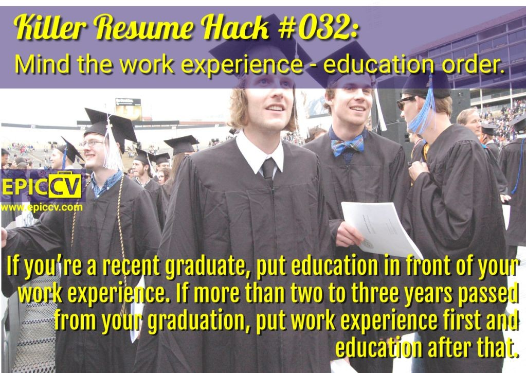 Killer Resume Hack #032