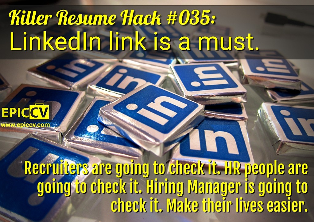 Killer Resume Hack #035