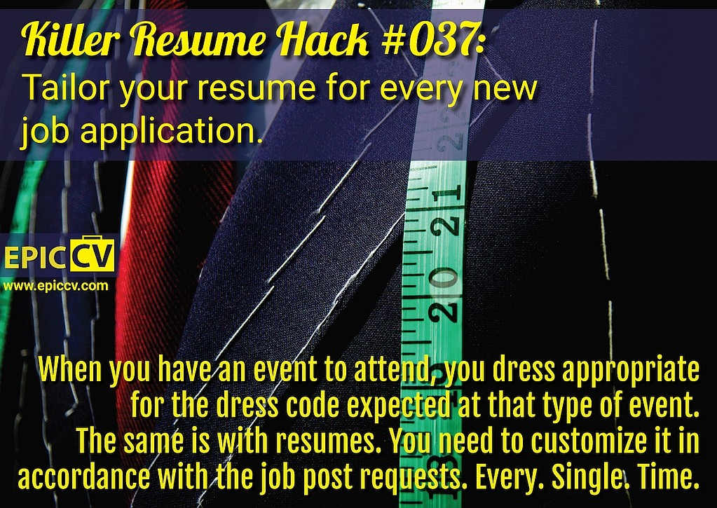 Killer Resume Hack #037
