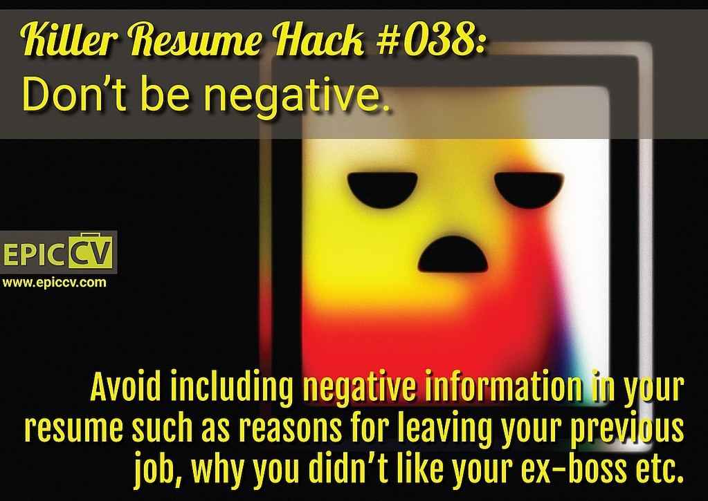 Killer Resume Hack #038