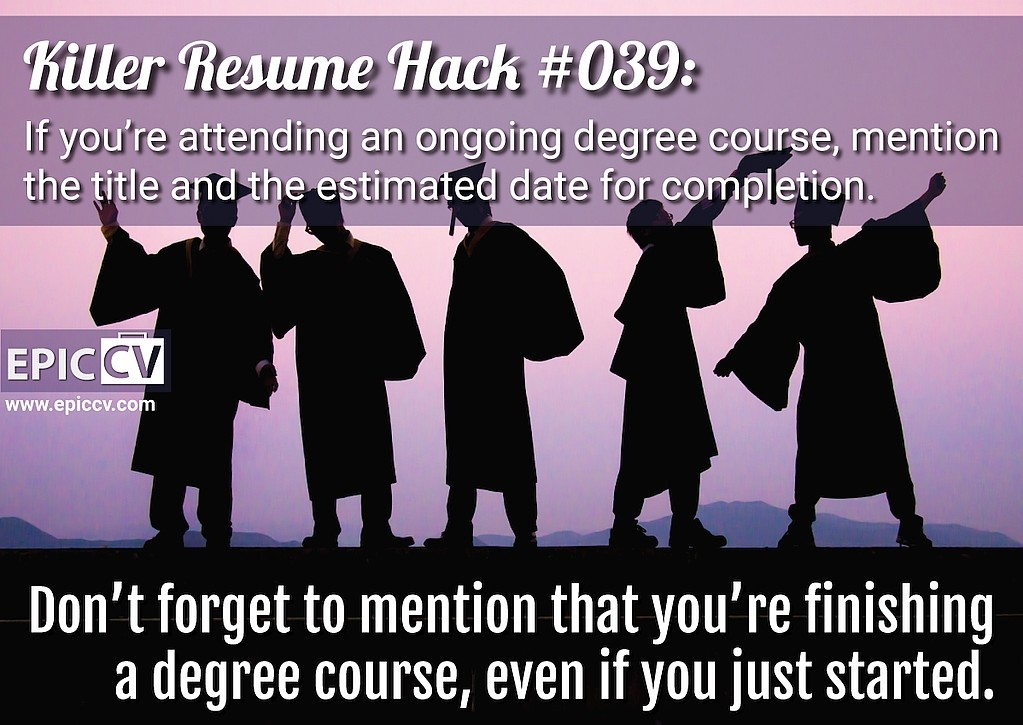 Killer Resume Hack #039