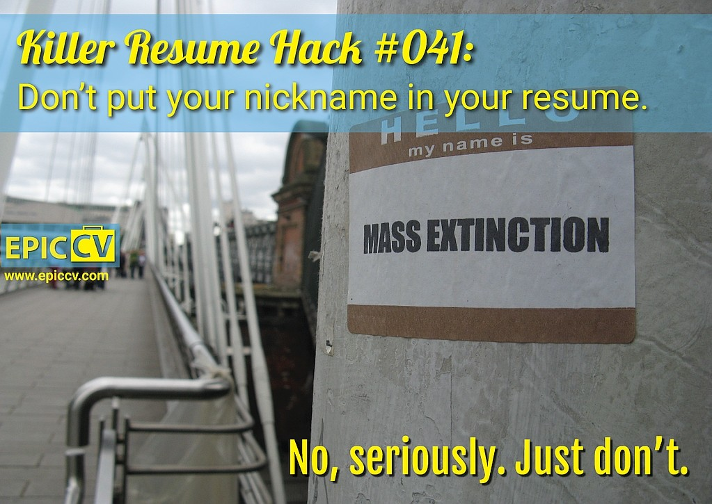 Killer Resume Hack #041